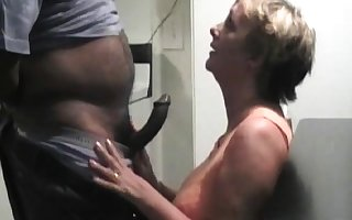 grown up carry the blowjob with the addition of hardcore making out