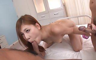 X-rated Teen Yura Kasumi Creampied Near A Trinity