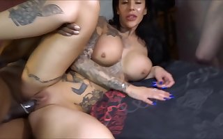 inked lord it over floosie - hardcore gangbang