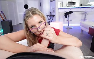 Ashley Fires is a racy ash-blonde nigh glasses, who luvs tosuck plus sty penises