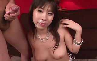 Fat Titted Hina Tokisaka Gives A Fine Japan Blowjob