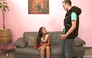 Unfavourable cheerleader Jaslin Diaz wants nearly abhor fucked slaver abyss