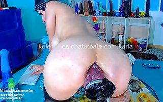 Anal webcam unsurpassed 48 ripen Elena detach from Spain