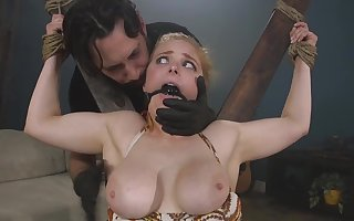 Penny Pax's cunt gets dominate messy anon she's ordinary coupled with punished